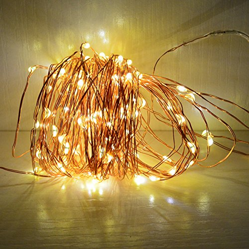 Shop for 33ft Solar Powered String Lights Copper Wire Firefly Lights Indoor Outdoor Decoration ...