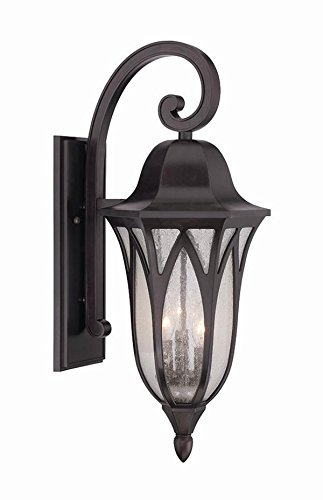 Wall Lamp Milano Bronze : Shop for Acclaim 39822ORB Milano Collection 3-Light Outdoor Light Fixture Wall Lantern, Oil ...