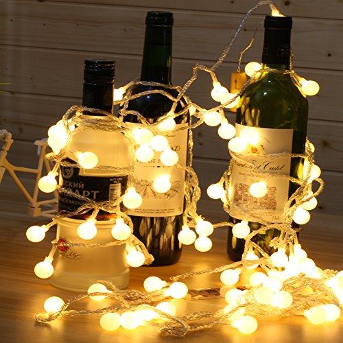 String Lights Voltage : Shop for Babali 100 Led Globe String Lights 33ft 10M 31V Low Voltage Safety Cherry Ball Fairy ...