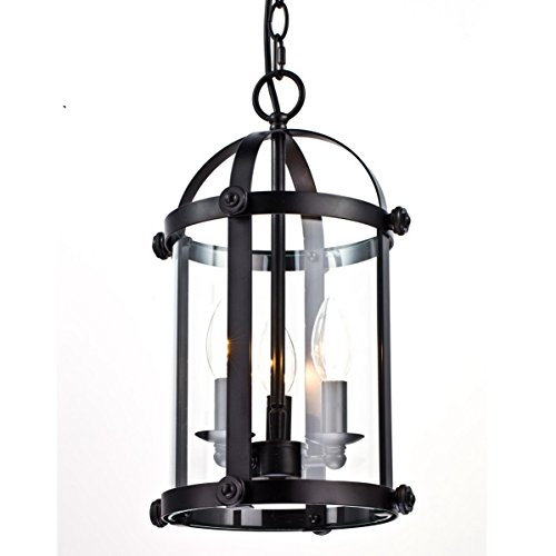 Shop For Dazhuan Vintage 3 Lights Glass Amp Metal Chandelier