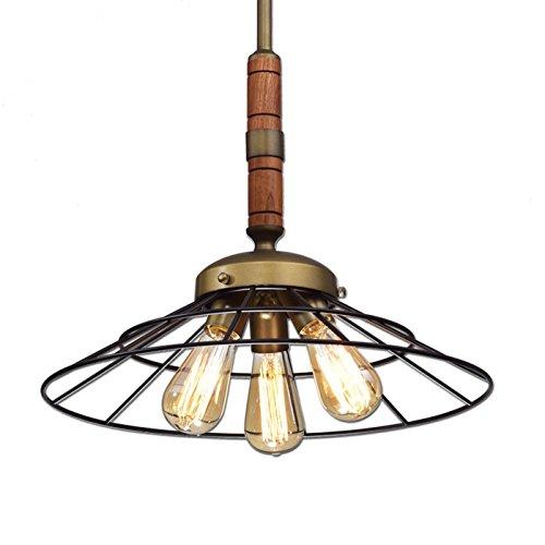 Kitchen Pendant Lighting Metal : For ecopower vintage metal wood chandeliers kitchen