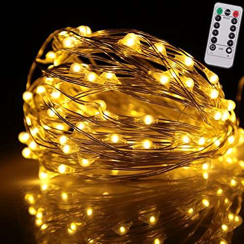 Outdoor String Lights With Remote : Shop for Kumeida Remote Control String Lights, Indoor and Outdoor Battery Operated Ultra Thin ...