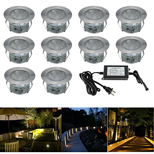 Shop For Low Voltage LED Deck Lighting Kit Stainless Steel Waterproof Outdoor