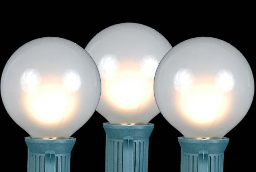 Shop for Novelty Lights, Inc. G50 Globe Outdoor Patio Party Christmas Replacement Bulbs, E12/C7 ...