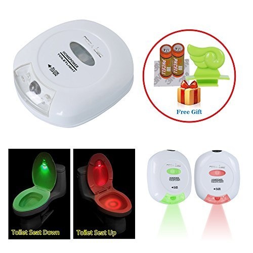 Shop For Noza Tec LED Sensor Motion Activated Toilet Nightlight Battery Opera