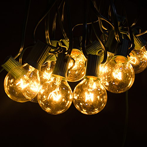G40 String Lights Wedding : Shop for Ourdoor String Lights - Noza Tec 25Ft G40 Globe Patio String Lights Decorative Indoor ...