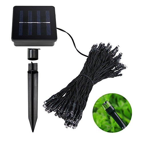 Shop for Solar String Lights,KOMRT Christmas Decorative Lights,Waterproof 100 LED Lighting ...