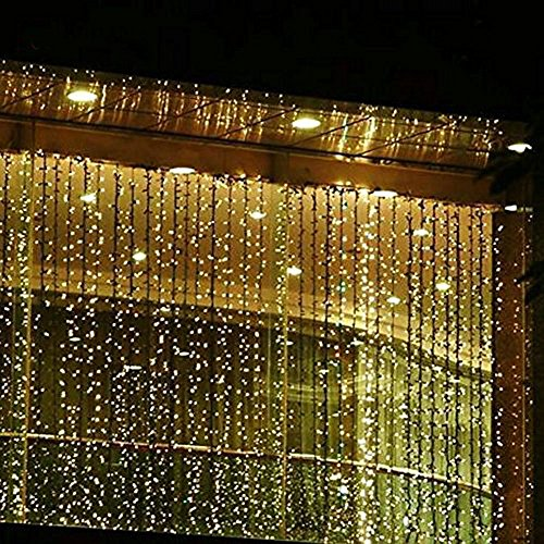 String Lights That Twinkle : Shop for Valuetom 304 LED Twinkle String Lights Fairy Curtain Lights for Christmas Bedroom Party ...