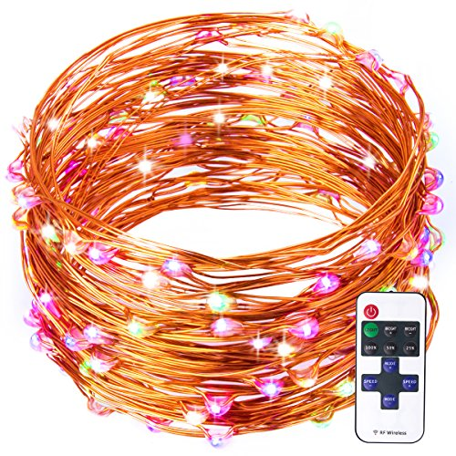 Shop for Warmoon Starry String Lights, 33ft 100 LEDs Color Changing Waterproof String Light ...